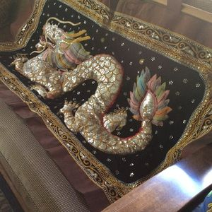 Chinese Dragon wall art. Delicate intricate